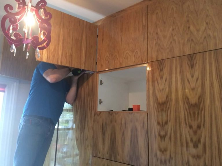 Kitchen Fitting Golden Triangle Builders